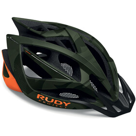 Rudy Project Airstorm MTB Helmet olive green/orange camo